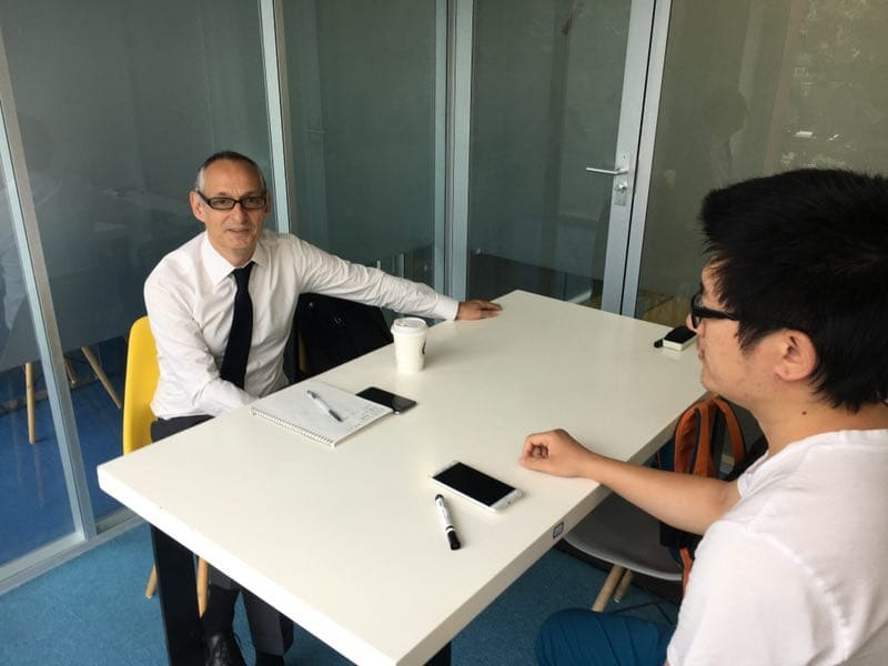 1 on 1 class in beijing with teacher felix