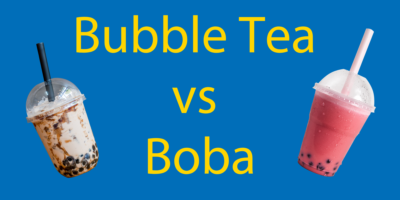 Bubble Tea vs Boba 🤔 Is There a Difference? Boba Explained Plus Cheat Sheet