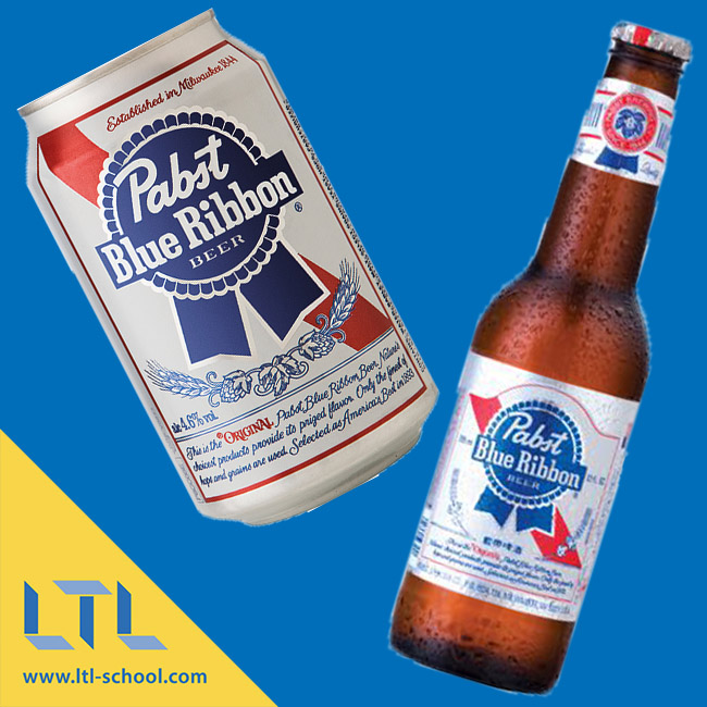 China Pabst Blue Ribbon 蓝带啤酒 Chinese Beers