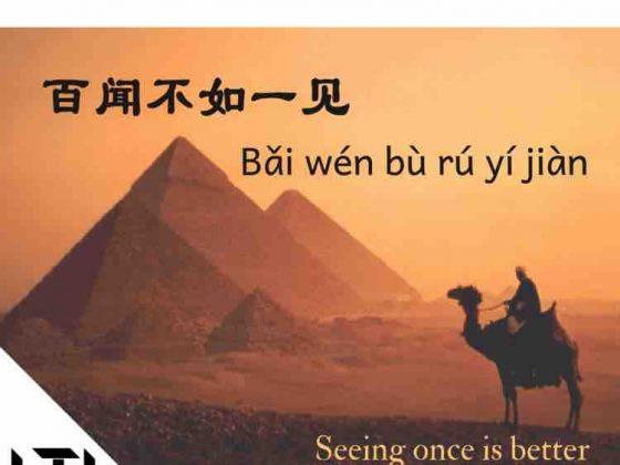 Chinese Quote - seeing