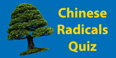 Chinese Radicals Quiz // How Many Do You Know?