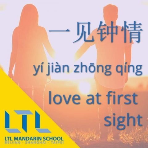 Chinese Idiom: Love at First Sight