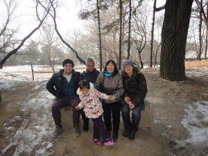 Luke & his homestay family