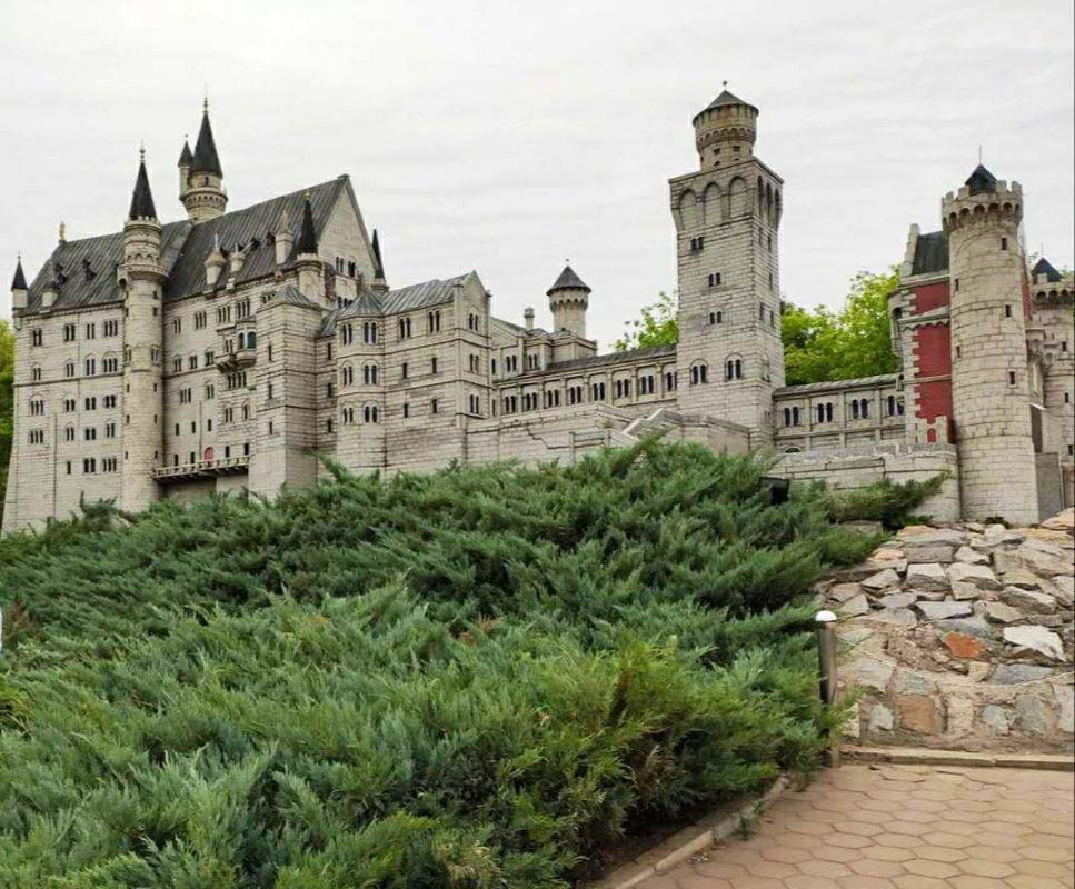 Neuschwanstein Castle in a scale of 1:25