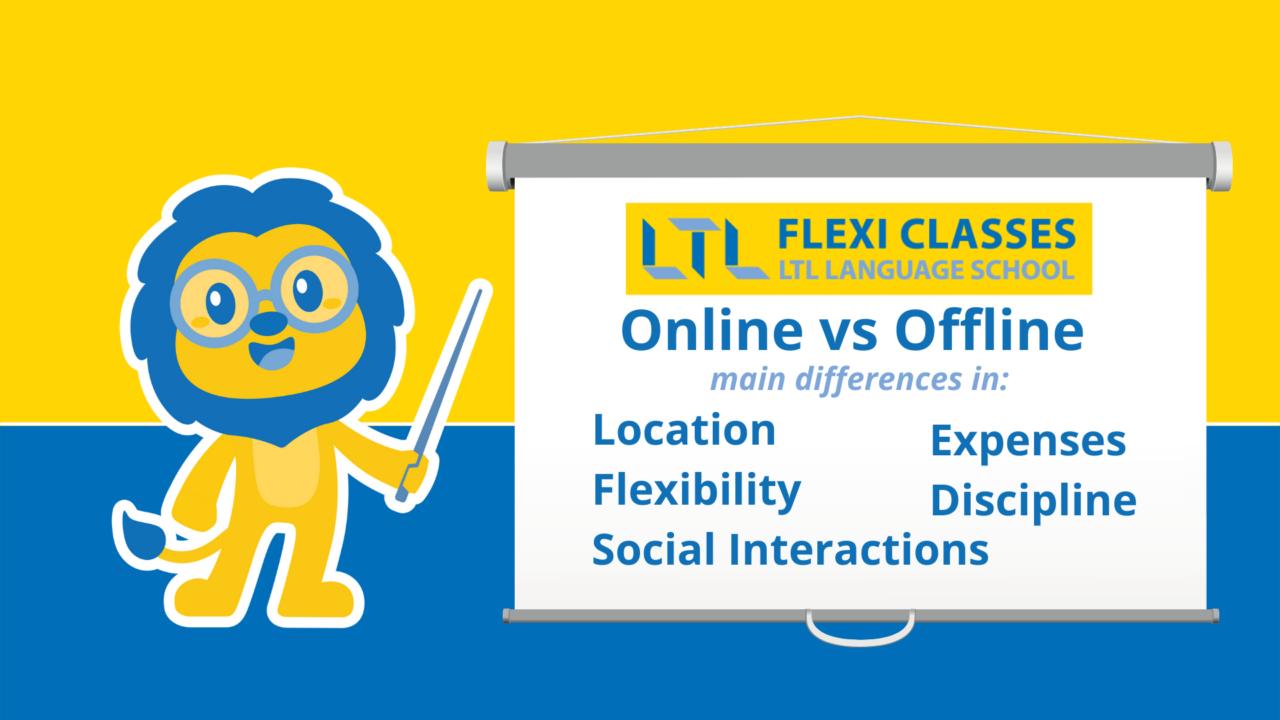 online vs offline education