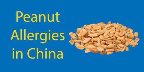 Peanut allergies in China
