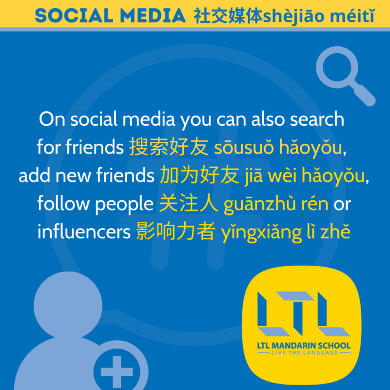 social media in Chinese