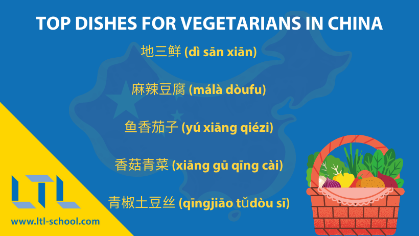 Vegetarians in China - The Top Dishes