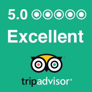 excellent 5 out of 5 tripadvisor rating illustration