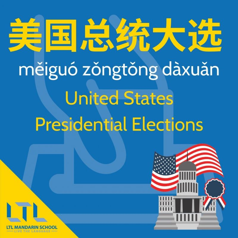 Election in Chinese - USA