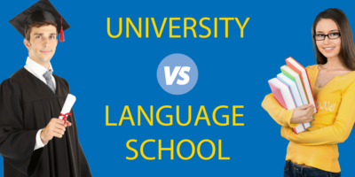 University vs Language School // Where to Learn a Foreign Language?
