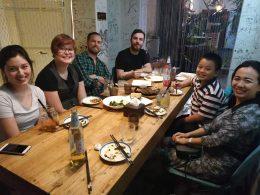 Dinner at a Yunnan Restaurant