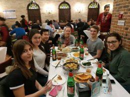Dinner at a Xinjiang Restaurant