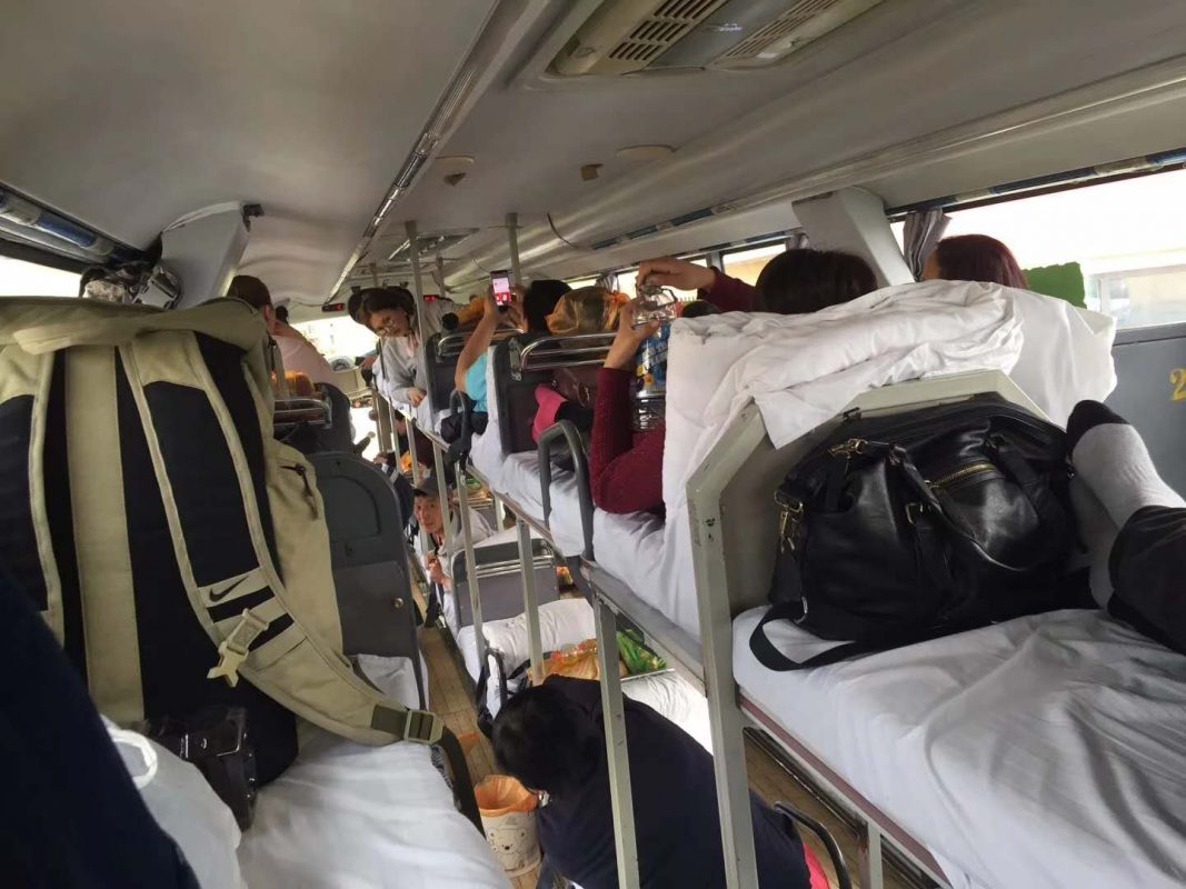 Immersion Training - China's Sleeper Buses