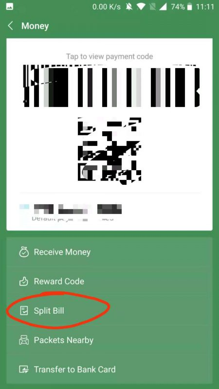Split a bill for ultimate convenience