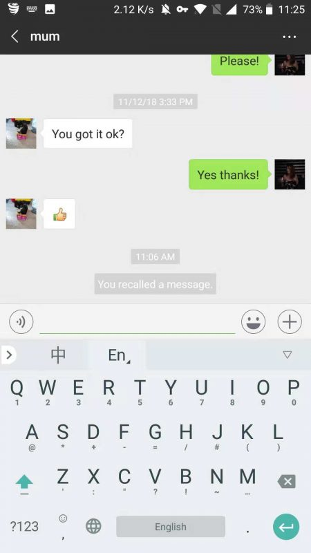 WhatsApp vs WeChat - The brilliant (yet awkward) recall feature