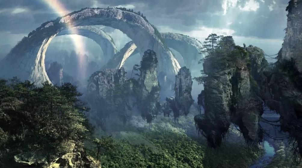 """#6 Zhangjiajie National Park in """"Avatar"""""""