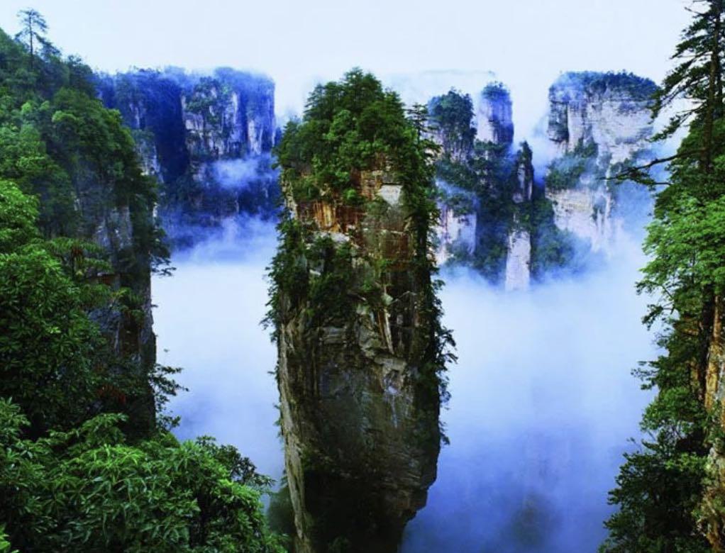Zhangjiajie - Home of Avatar the Movie