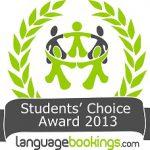 Languagebooking's Students' Choice Award logo