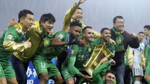 Beijing Guo'an - Chinese Cup Winners in 2018