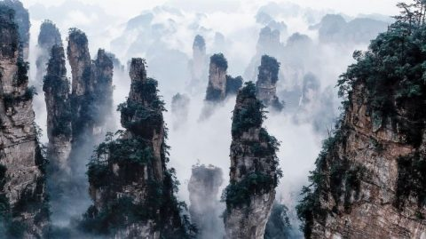 Best Places to Visit in China: Floating Mountains, Zhangjiajie