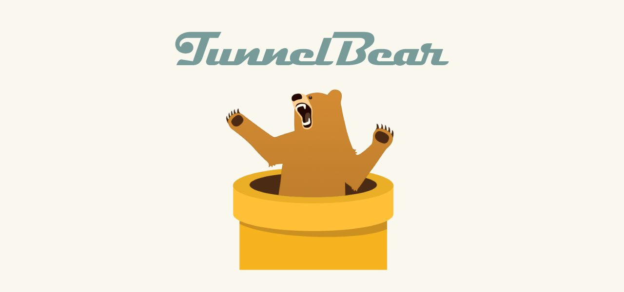 Tunnel Bear - A great Free VPN