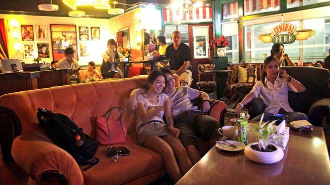Things to do in Beijing - Central Perk Friends Cafe in Beijing