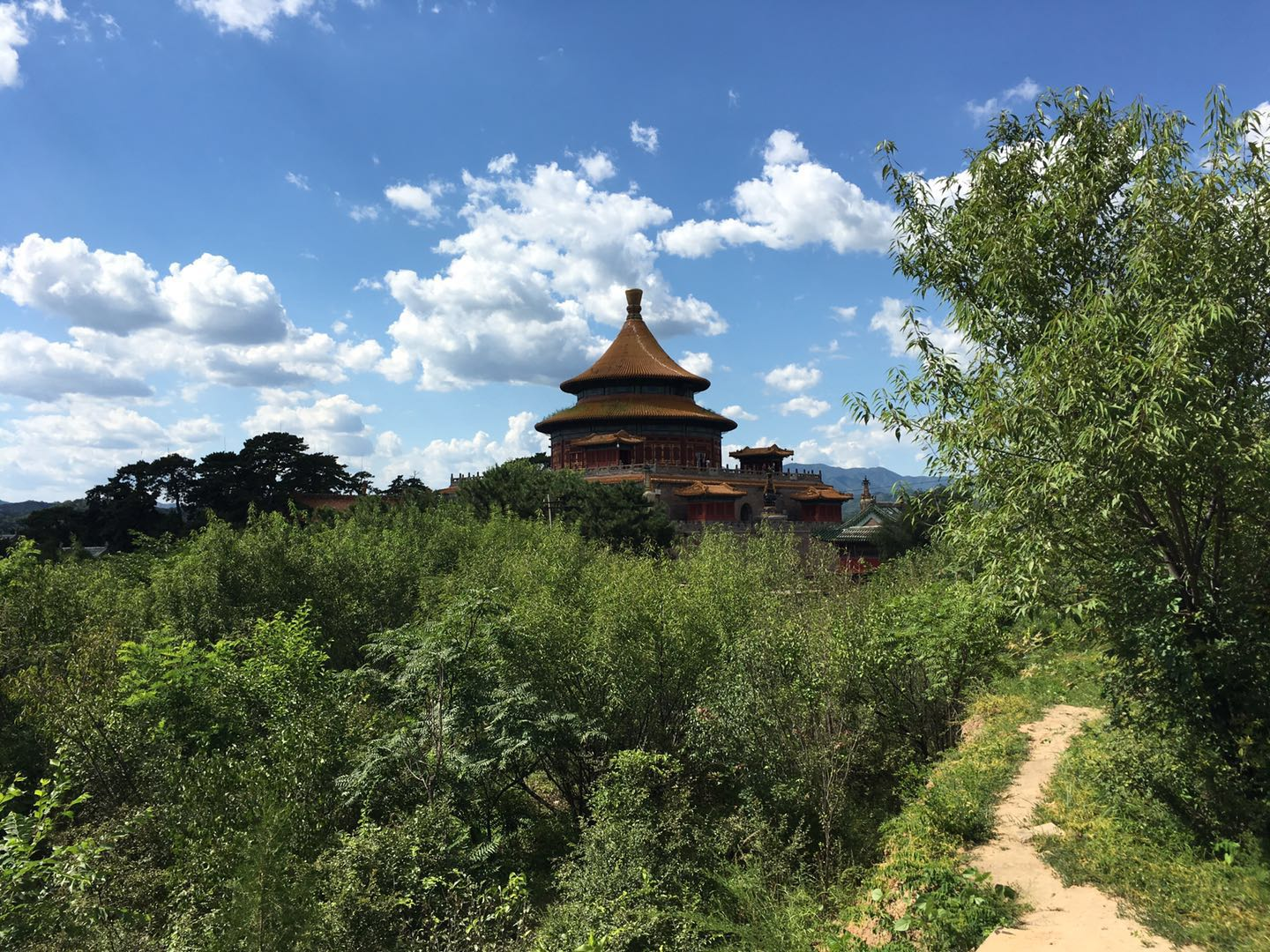 Chengde from the distance