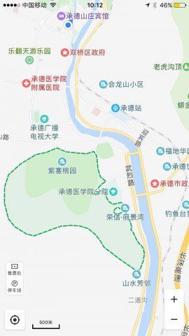 僧冠峰风景区 on the Map