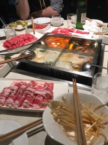 Four Flavours - One Hot Pot