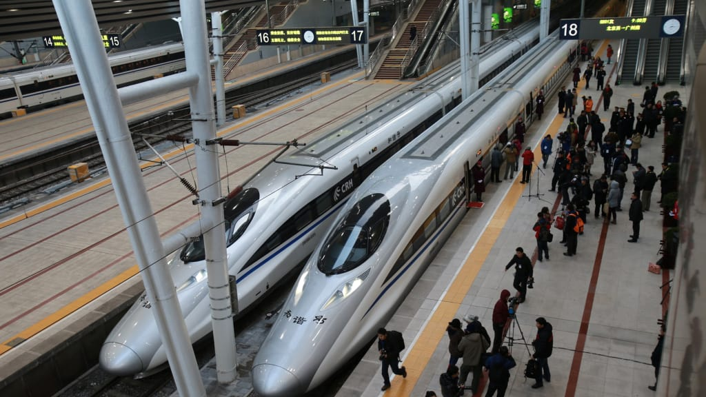 China High-Speed Rail - As efficient as you'd wish for!