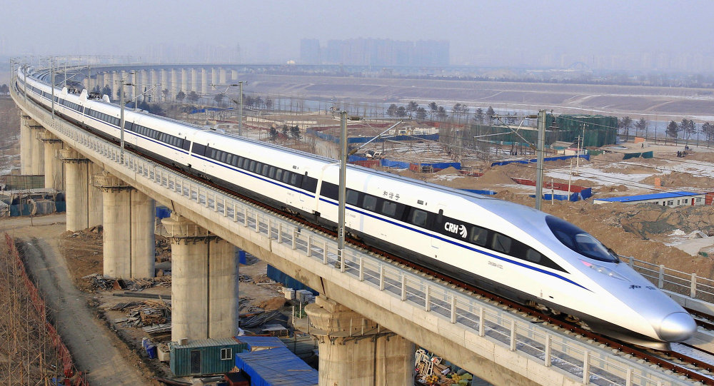 china high-speed rail