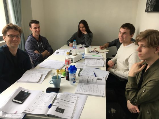 Beginner Group Class studying Chinese