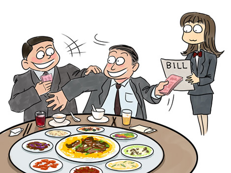 Dating in China - Fighting for the Bill