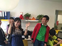 Party time at LTL Beijing
