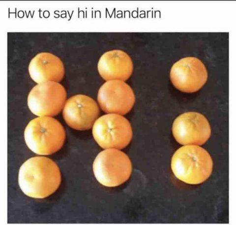 How to say Hi in Mandarin