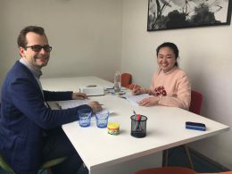 Enjoying Mandarin Class in Shanghai