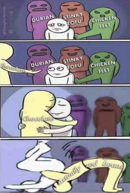 Chinese Meme, Red Bean