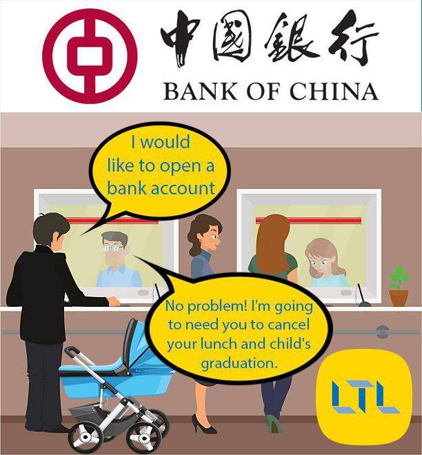 Chinese Memes - The Dreaded Bank Visit