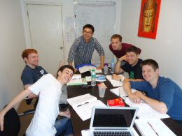 Small group class at LTL Beijing