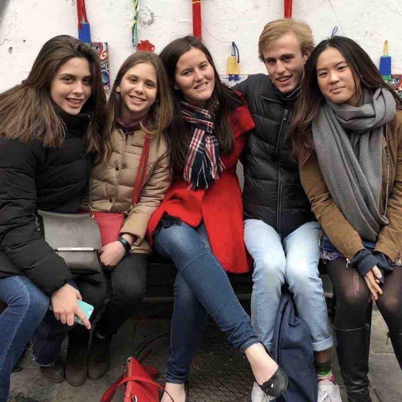 LTL Students taking a day trip in Beijing