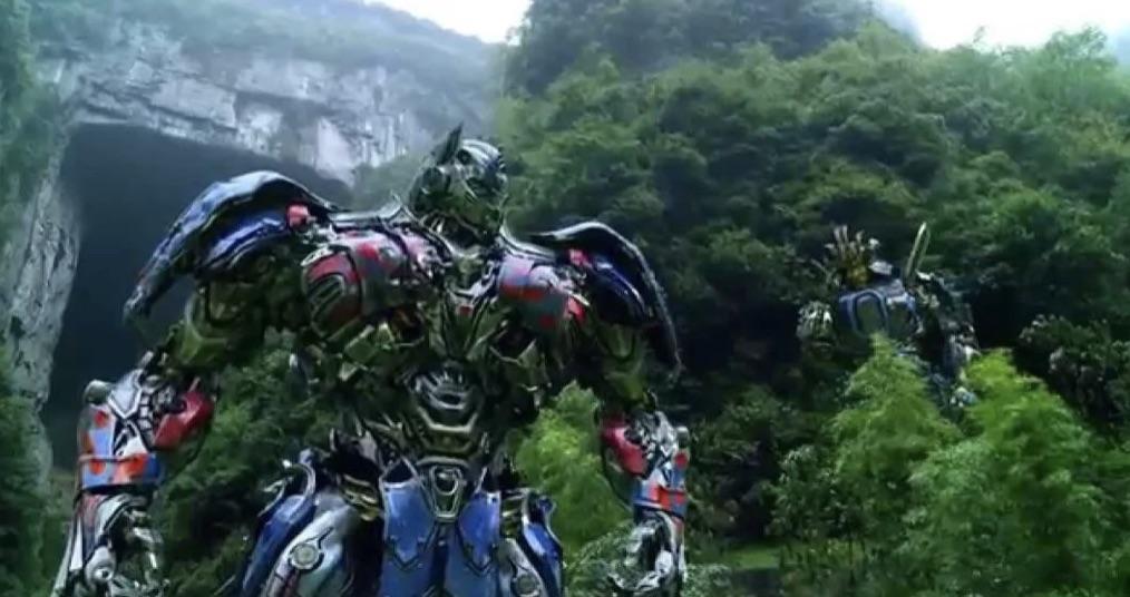 """Wulong Karst Landscape in """"Transformer 4: Age of Extinction"""""""