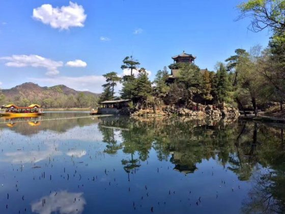 Beautiful scenery in Chengde