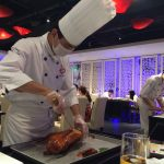 Beijing Duck prepared in front of your very eyes
