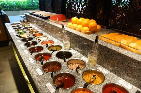Huge array of sauces you can enjoy at Chinese Hotpot - Traditional Chinese Dishes