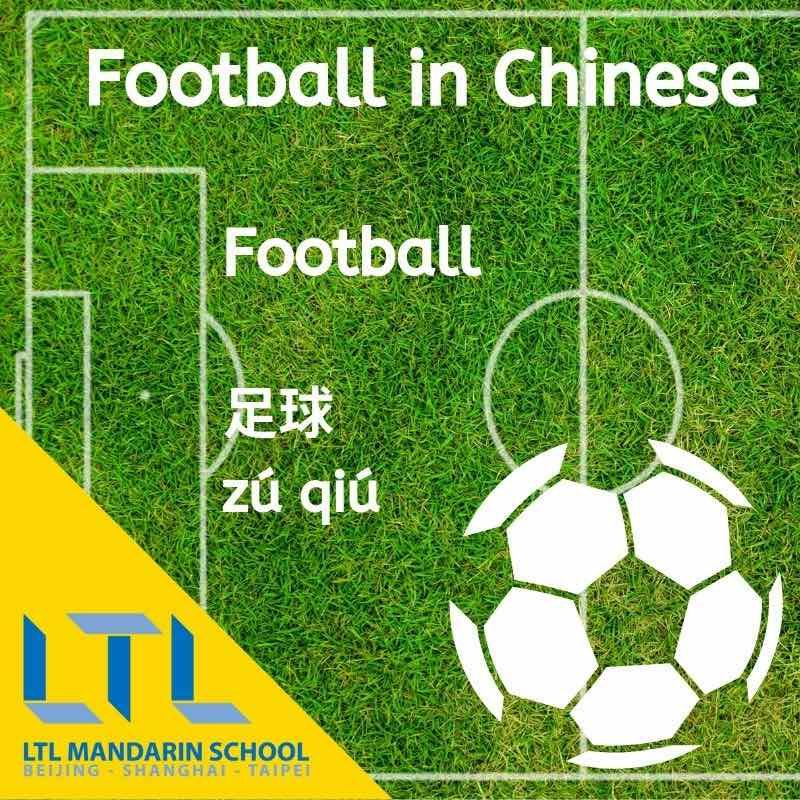 How to say Football in Chinese
