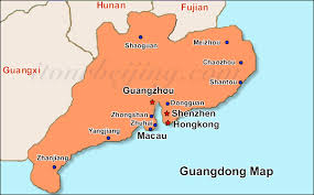 Guangdong Province map