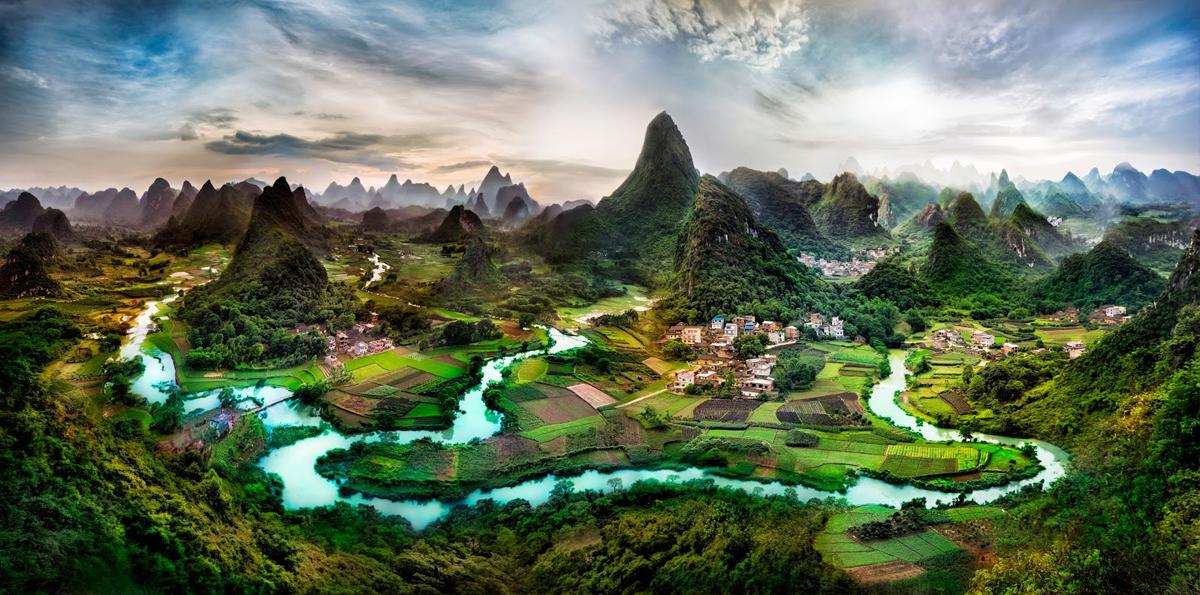 Beautiful Guangxi Province