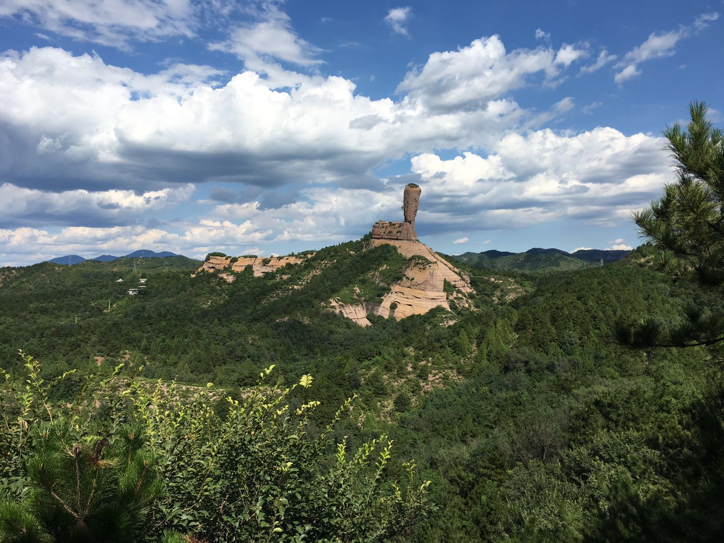 Hammer Rock in Chengde