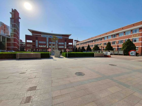 Main Area - High School in China